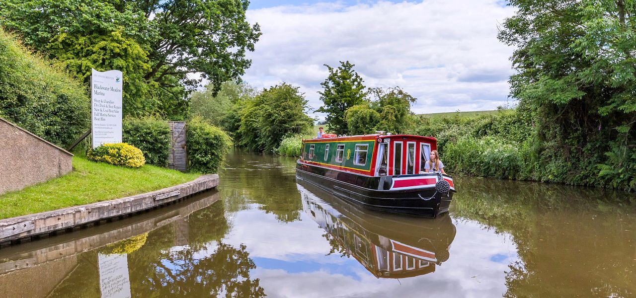 Narrowboat Holiday in England