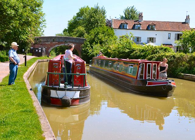 Narrowboats on the UK Canals