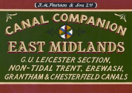 Pearsons Canal Companion: East Midlands